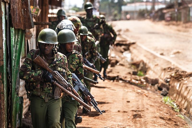 At least 49 people have died since the first presidential election of August 8, which was later overturned, in Kenya's worst political crisis in a decade (AFP Photo/MARCO LONGARI)