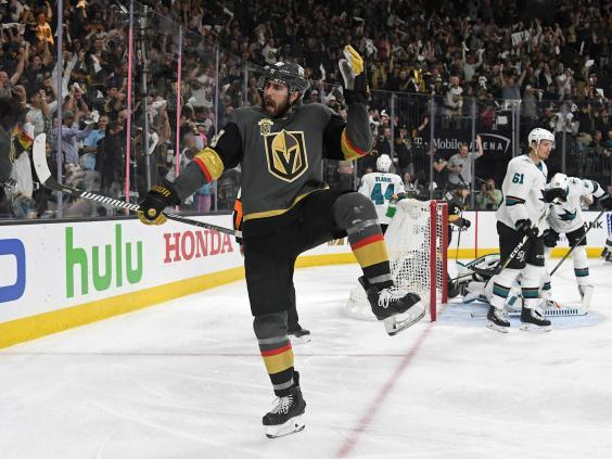 The Golden Knights reached the Stanley Cup in their first year of existence (Getty)
