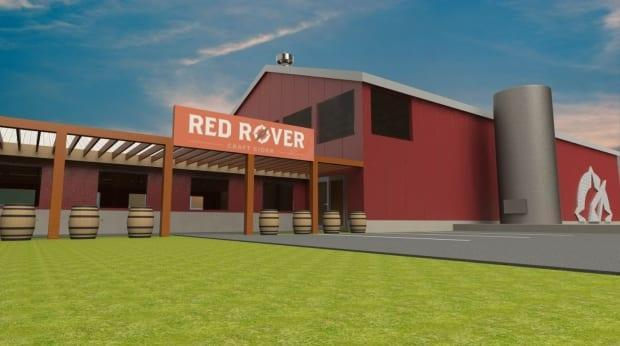 Red Rover Craft Cider envisions a new production plant and eco-tourism operation on the farm property.
