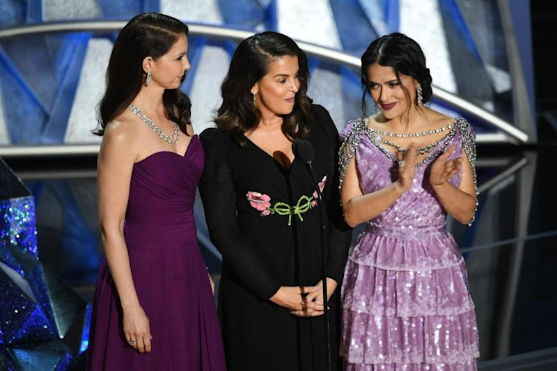 Ashley Judd added she hoped this was the start of another 90 years of equality for all at the Academy Awards. Source: Getty