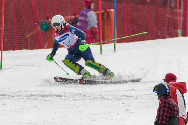 Winter Paralympics: Mixed feelings for skier Gallagher after missing out on PyeongChang glory