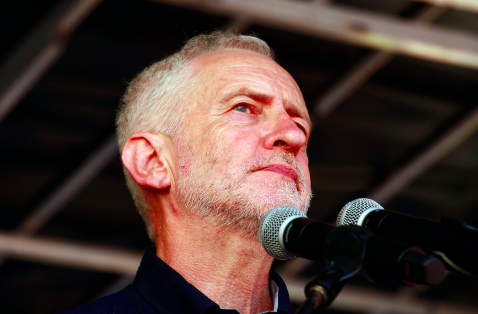<em>The Labour leader hosted a Holocaust Memorial Day event in 2010 where speakers compared the actions of Israel in Gaza to the Nazis (Rex)</em>
