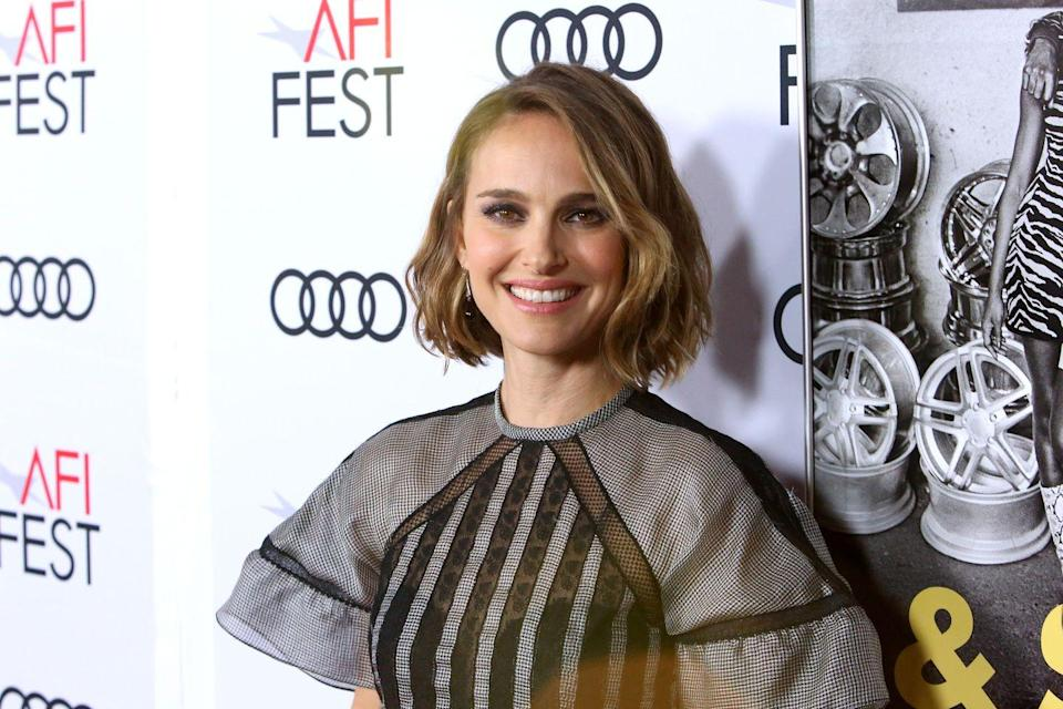 """<p>Attending Harvard at the same time as Colin Jost, Portman <sub><a href=""""https://www.insider.com/natalie-portman-biography-life-family-college-career-2018-6"""" rel=""""nofollow noopener"""" target=""""_blank"""" data-ylk=""""slk:graduated"""" class=""""link rapid-noclick-resp"""">graduated</a></sub> from the university in 2003 with a degree in Psychology. </p>"""