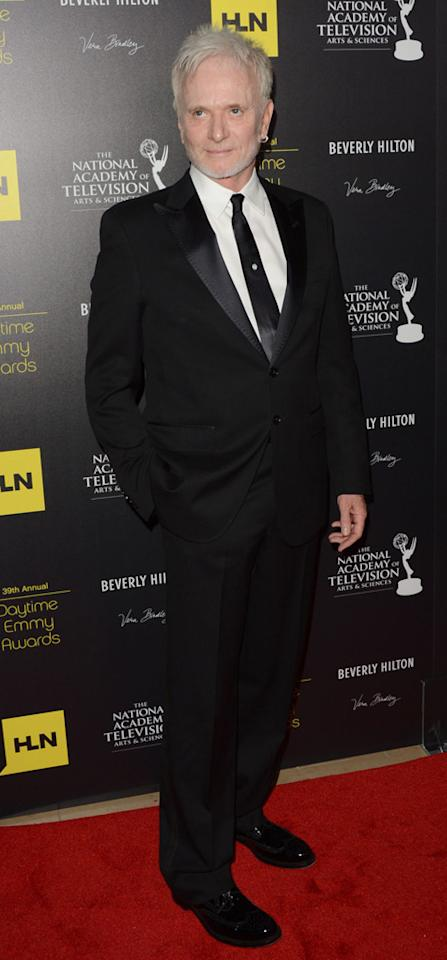 Anthony Geary arrives at The 39th Annual Daytime Emmy Awards held at The Beverly Hilton Hotel on June 23, 2012 in Beverly Hills, California.