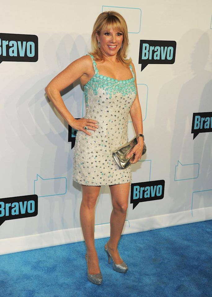 Ramona Singer attends Bravo's 2012 Upfront Event at Center 548 on April 4, 2012 in New York City.