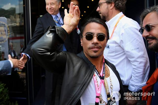 "Salt Bae <span class=""copyright"">Jerry Andre / Motorsport Images</span>"