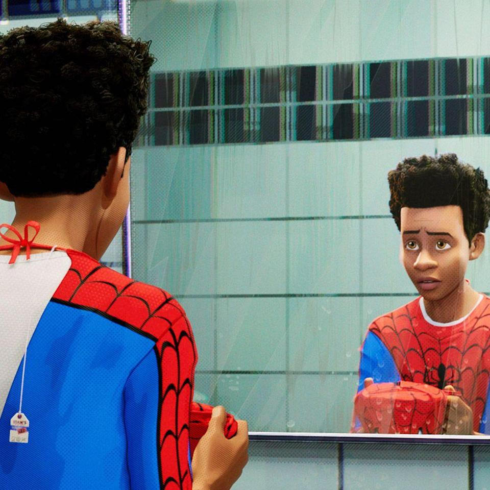 """<p>Ethereal, brilliant, even cryptic, the original soundtrack for the reimagined <em>Spider-Man</em> installment is the perfect complement to the film's multidimensional narrative. Compiled with hip-hop, reggaeton, and low-key rap from well-established artists including Post Malone and Swae Lee (""""<a href=""""https://www.youtube.com/watch?v=ApXoWvfEYVU"""" rel=""""nofollow noopener"""" target=""""_blank"""" data-ylk=""""slk:Sunflower"""" class=""""link rapid-noclick-resp"""">Sunflower</a>""""), Nicki Minaj (""""<a href=""""https://www.youtube.com/watch?v=mEX9ht4bexQ"""" rel=""""nofollow noopener"""" target=""""_blank"""" data-ylk=""""slk:Familia"""" class=""""link rapid-noclick-resp"""">Familia</a>""""), DJ Khalil (""""<a href=""""https://www.youtube.com/watch?v=zYJ8wFK7EE4"""" rel=""""nofollow noopener"""" target=""""_blank"""" data-ylk=""""slk:Elevate"""" class=""""link rapid-noclick-resp"""">Elevate</a>""""), and Blackway & Black Caviar (""""<a href=""""https://www.youtube.com/watch?v=Y88LVU7MAe4"""" rel=""""nofollow noopener"""" target=""""_blank"""" data-ylk=""""slk:What's Up Danger"""" class=""""link rapid-noclick-resp"""">What's Up Danger</a>""""), the hits—like the film's jolts of white-knuckle action—just keep comin'.</p><p><a class=""""link rapid-noclick-resp"""" href=""""https://www.amazon.com/Spider-Man-Into-Spider-Verse-Liev-Schreiber/dp/B07L9WQMWS?tag=syn-yahoo-20&ascsubtag=%5Bartid%7C10056.g.32872244%5Bsrc%7Cyahoo-us"""" rel=""""nofollow noopener"""" target=""""_blank"""" data-ylk=""""slk:Watch and Listen"""">Watch and Listen </a></p>"""