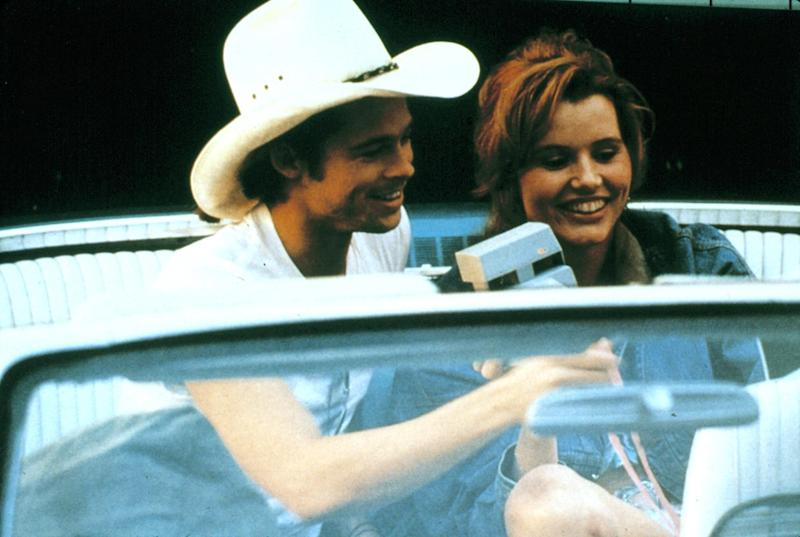 Brad Pitt in Thelma and Louise