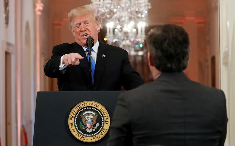 White House backs down and fully restores CNN reporter Jim Acosta's press pass