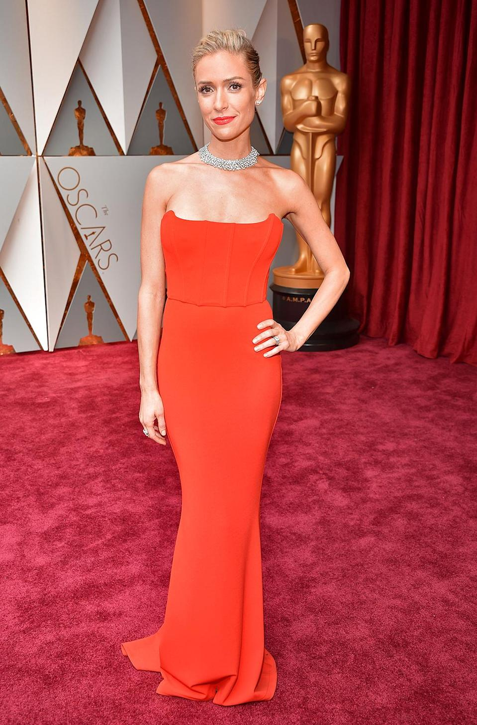 <p>TV personality Kristin Cavallari attends the 89th Annual Academy Awards at Hollywood & Highland Center on February 26, 2017 in Hollywood, California. (Photo by Kevin Mazur/Getty Images) </p>