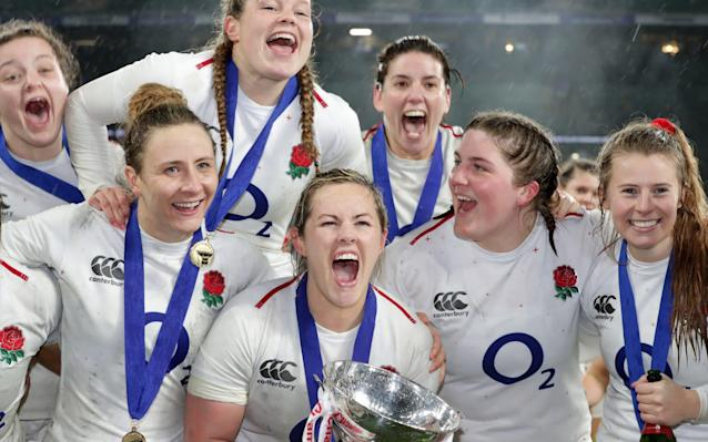 England Women are the Six Nations champions - Getty Images Europe