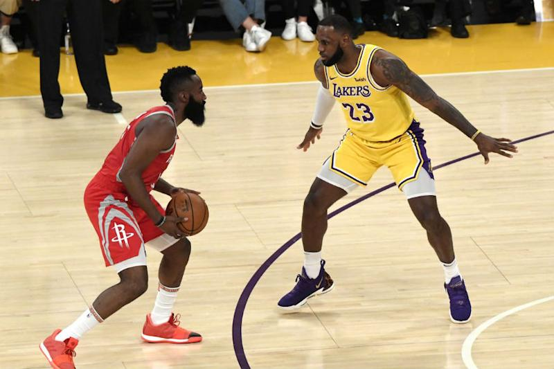Houston Rockets Spoil LeBron James' Home Debut in Fight-marred Game
