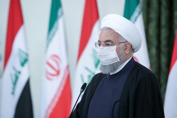 President Hassan Rouhani recently said 25 million Iranians have been infected with the virus, a number far higher than the 15 million cases recorded worldwide (AFP Photo/-)
