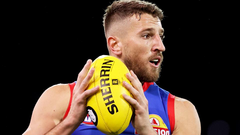 The Western Bulldogs have undergone coronavirus tests and are isolating ahead of their Friday night match against Melbourne after a staff member visited a listed exposure site. (Photo by James Elsby/AFL Photos via Getty Images)