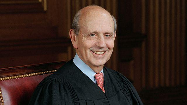 Stephen Breyer's Washington home burglarized