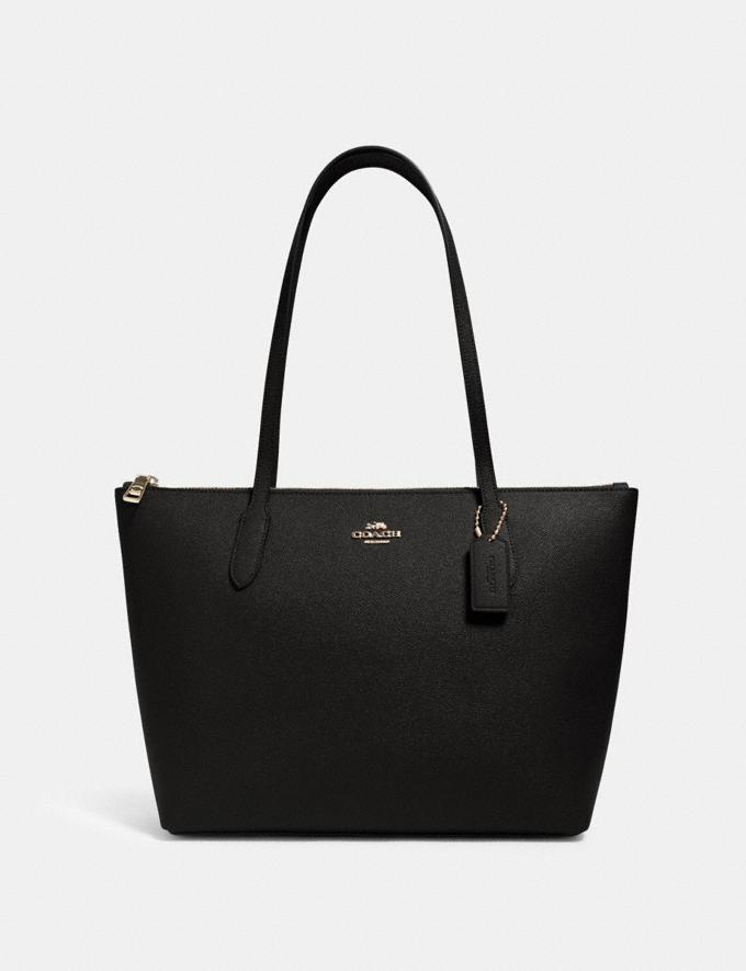 Zip Top Tote. Image via Coach Outlet.