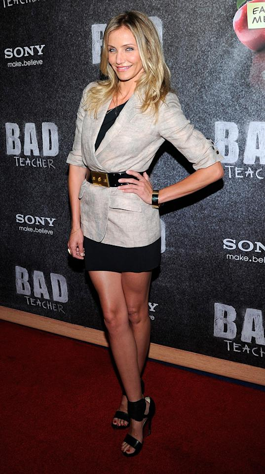 """<a href=""""http://movies.yahoo.com/movie/contributor/1800020297"""">Cameron Diaz</a> attends the 2011 CinemaCon Awards in Las Vegas, Nevada on March 30, 2011."""