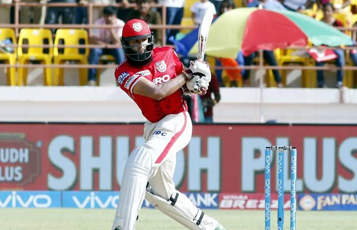 IPL: Amla's 65 fires Kings XI Punjab to 188/7 against Gujarat Lions
