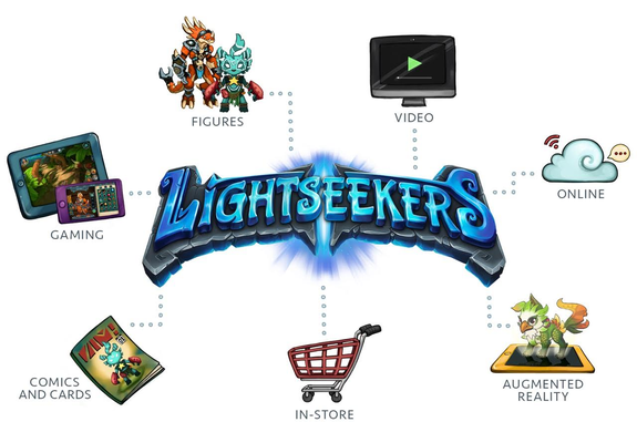 Lightseekers will include the game, playing cards, characters and more.