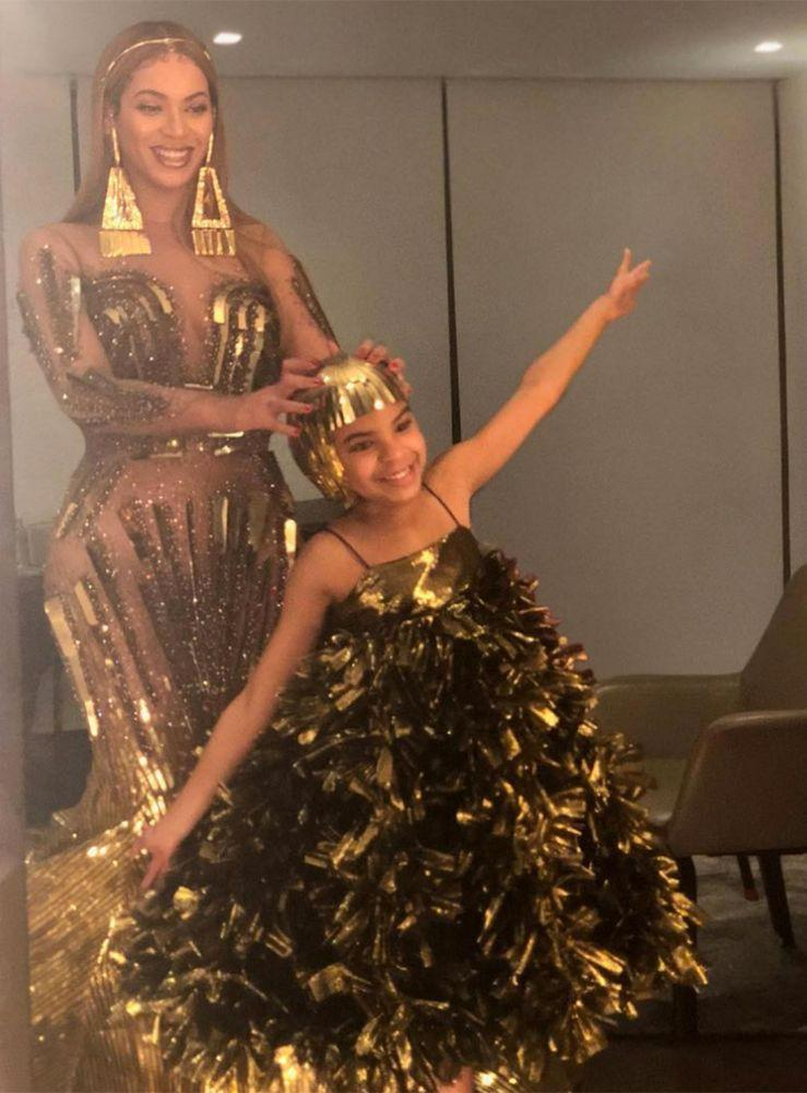 Beyoncé and daughter Blue