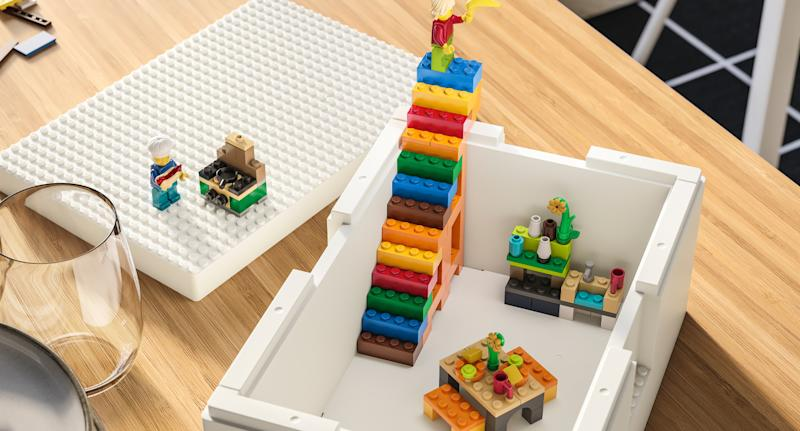 Ikea and Lego announce collaboration with Bygglek storage range