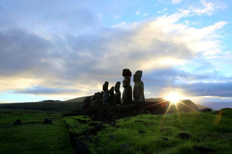 People in the Marquesas islands are genetically close to the people of Easter Island nearly 4,000 kilometres away (AFP/GREGORY BOISSY)