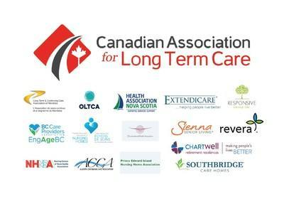 CALTC logo with member logos (CNW Group/Canadian Association for Long-Term Care)