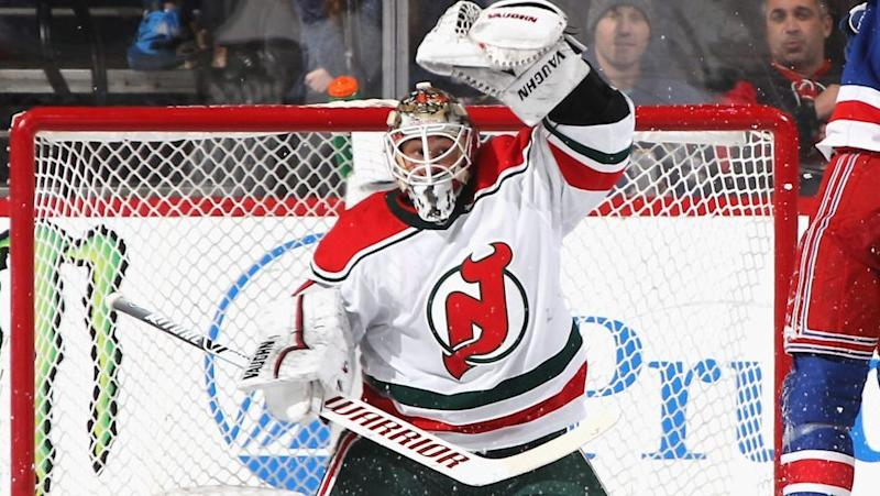 finest selection 2e1bb 1f579 Why Blue Jackets acquired Kinkaid from Devils