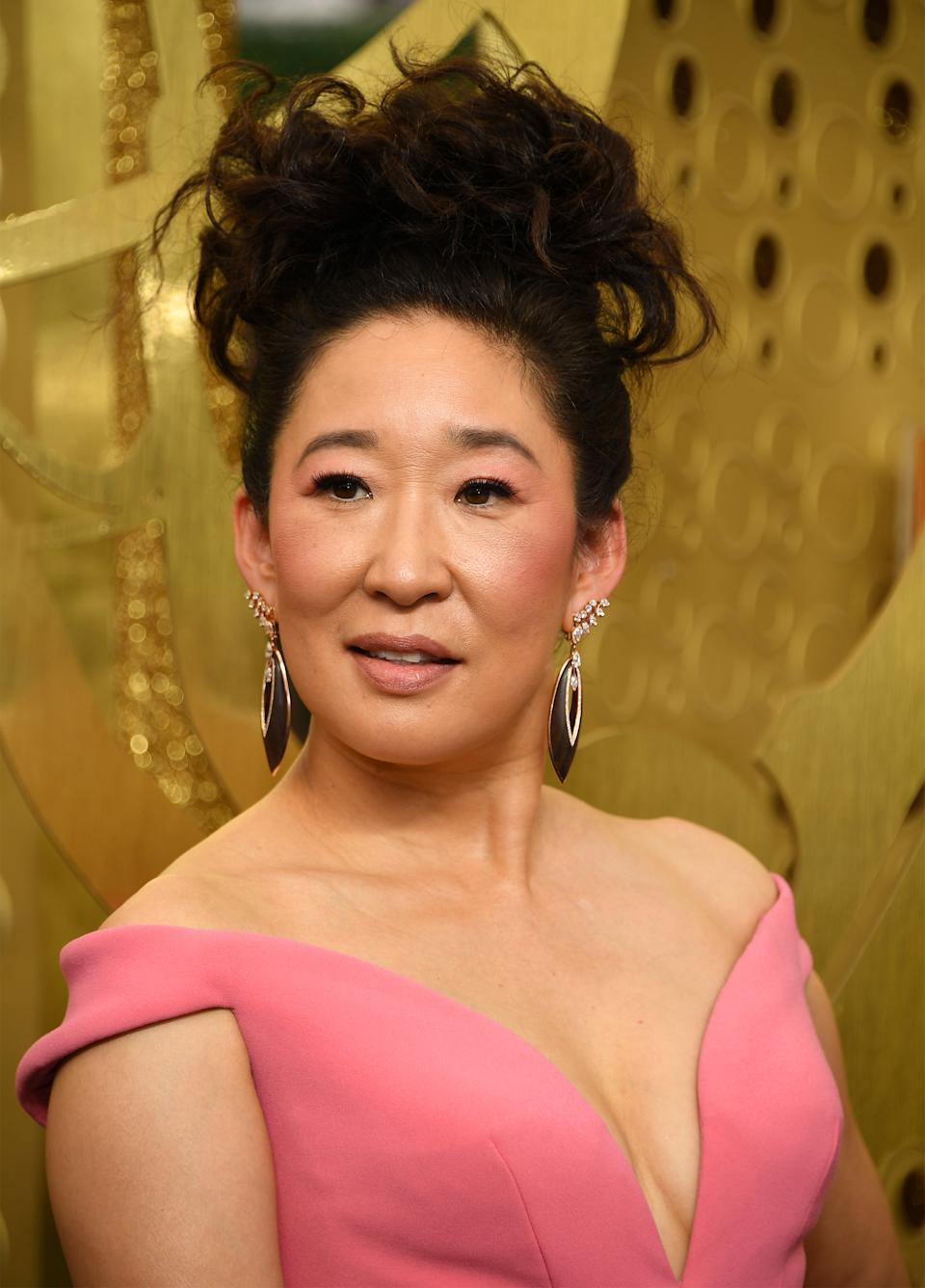 LOS ANGELES, CALIFORNIA - SEPTEMBER 22:   Sandra Oh attends the 71st Emmy Awards at Microsoft Theater on September 22, 2019 in Los Angeles, California.  (Photo by Kevin Mazur/Getty Images)