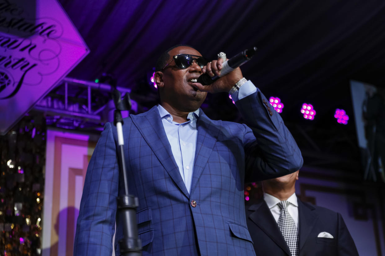LOUISVILLE, KY - MAY 03: Master P performs at the Barnstable Brown Gala on May 3, 2019 in Louisville, Kentucky. (Photo by Michael Hickey/Getty Images)