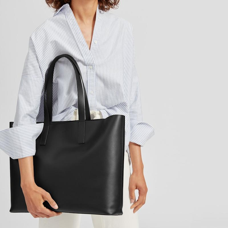 This bag checks all the boxes: It's roomy, sturdy yet lightweight and comes in eight different colors to suit your style. (Photo: Everlane)