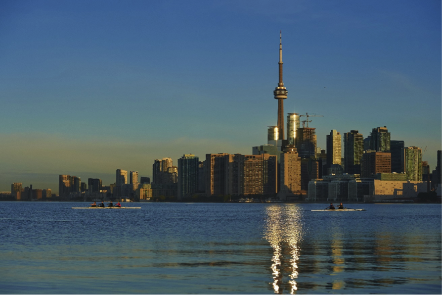 <p>The largest city in Canada is the fourth best city in the world to live in. (Rex features) </p>