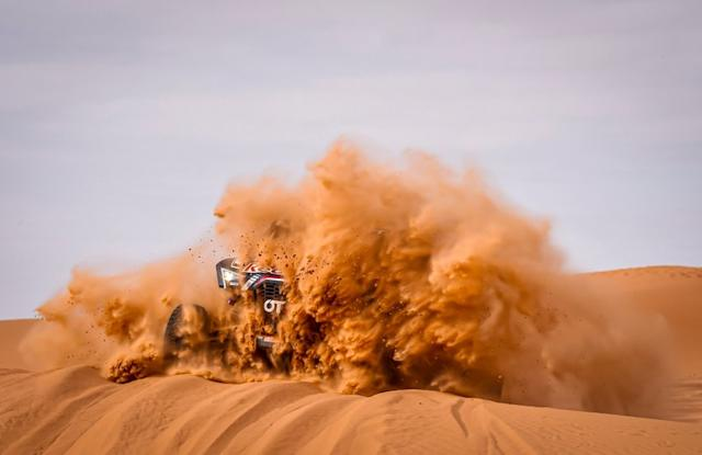 """#403 Red Bull Off-Road Team USA OT3: Cyril Despre, Mike Horn <span class=""""copyright"""">A.S.O. </span>"""