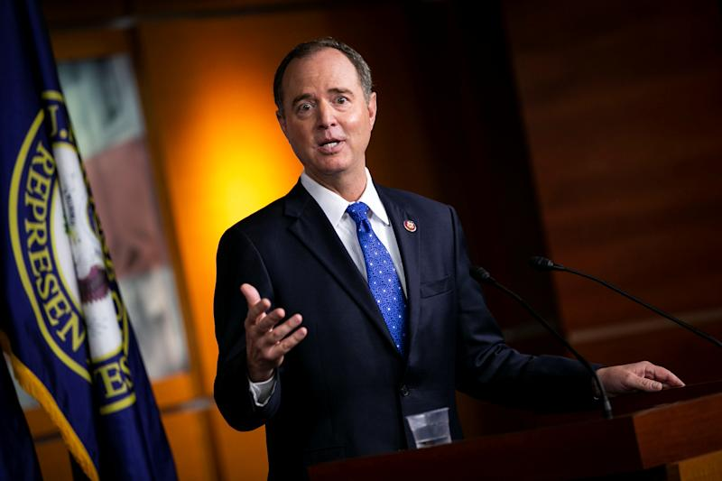 U.S. House Intelligence Committee Chairman Adam Schiff, D-Calif., speaks during a news conference about impeachment proceedings at the U.S. Capitol in Washington. (Photo: Al Drago/Reuters)