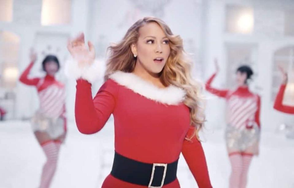 Mariah Carey S All I Want For Christmas Is You The Campest Christmas Song Ever Could Finally Claim Uk Number One For The First Time