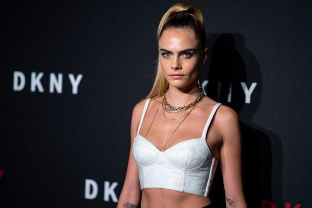 Delevingne attends the DKNY 30th anniversary party at St. Ann's Warehouse on Sept. 9, 2019 in New York City. (Photo: Gotham via Getty Images)