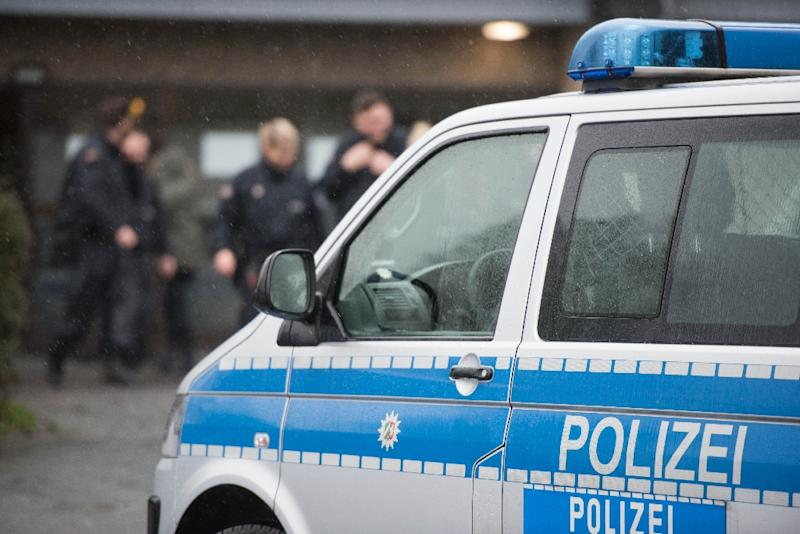 Officers have cordoned off the centre of Ansbach, although details of what caused an explosion are still unclear