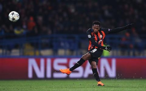 Fred will leave Shakhtar Donetsk this summer - Credit: GETTY IMAGES