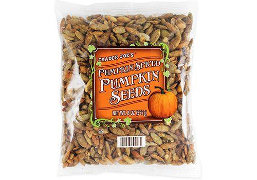 <p><strong>Elevate your trail mix game with these delicious spiced pepitas that are crunchy, sweet and savory.</strong> Enjoy them from the bag or try them in a yogurt parfait for an unexpected but delectable topping.</p>