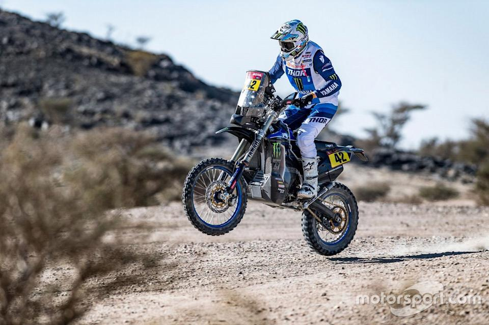 "#42 Monster Energy Yamaha Rally Team: Adrien Van Beveren<span class=""copyright"">Yamaha </span>"