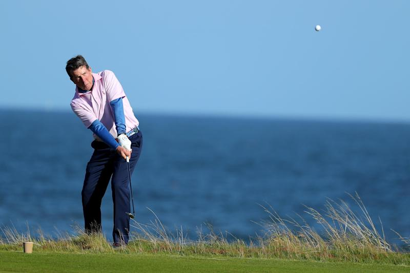 Diamond Bob: The former Barclays chief plays a round of golf: Getty Images