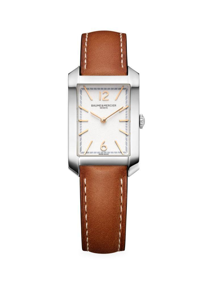 """<p><strong>Baume & Mercier</strong></p><p>saksfifthavenue.com</p><p><strong>$1500.00</strong></p><p><a href=""""https://go.redirectingat.com?id=74968X1596630&url=https%3A%2F%2Fwww.saksfifthavenue.com%2Fbaume-mercier-hampton-stainless-steel-leather-strap-watch%2Fproduct%2F0400012977738&sref=https%3A%2F%2Fwww.harpersbazaar.com%2Ffashion%2Ftrends%2Fg33753416%2Fpractical-gift-ideas%2F"""" rel=""""nofollow noopener"""" target=""""_blank"""" data-ylk=""""slk:Shop Now"""" class=""""link rapid-noclick-resp"""">Shop Now</a></p><p>While her phone is charging (see above), she can keep track of her next Zoom conference with this slender watch. </p>"""