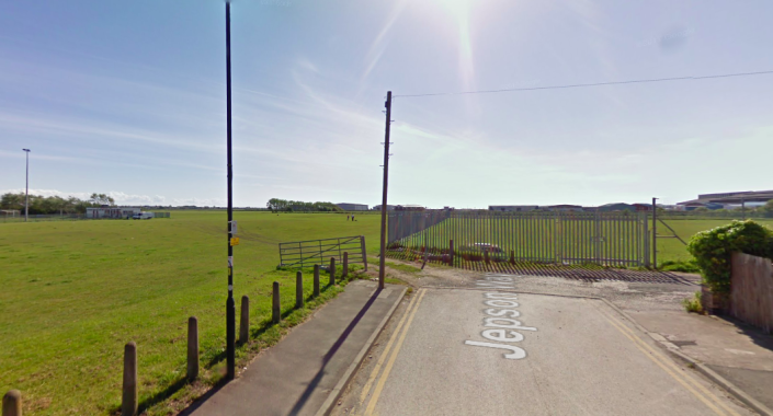 The incident took place at Common Edge Playing Fields in Blackpool. (Google)