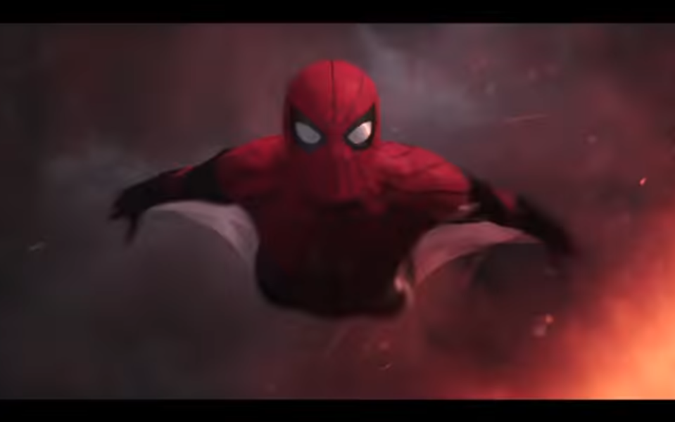 Peter Parker goes on an explosive European vacation in this summer's <em>Spider-Man: Far From Home</em>. (Photo: Sony/YouTube)