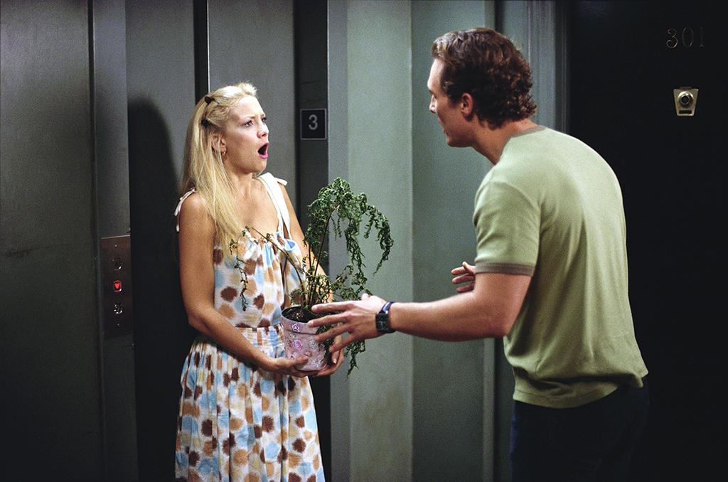 <p>A magazine writer (Kate Hudson) and an advertising executive (Matthew McConaughey) compete in a romantic contest — she tries to push him away in 10 days, and he attempts to woo her in that same time frame — in this 2003 hit rom-com. (Photo: Paramount/courtesy Everett Collection) </p>