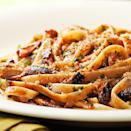 <p>Even sardine skeptics will enjoy this lemony pasta with crispy breadcrumbs. Substitute two 5- to 6-ounce cans chunk light tuna for the sardines if you prefer. If you are using tuna or can't find sardines packed in tomato sauce, add 2 tablespoons tomato paste in Step 4 with the lemon juice. Serve with a salad of bitter greens tossed with a lemon vinaigrette and a glass of Pinot Grigio.</p>