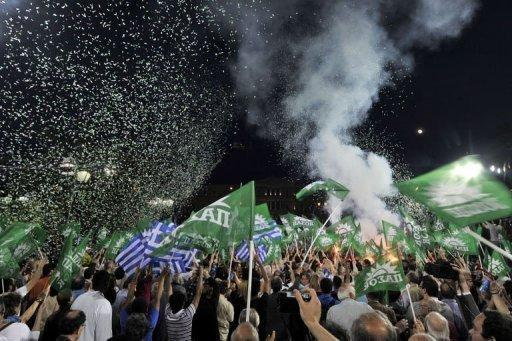 Voters are angry with Greece's two main parties over austerity cuts