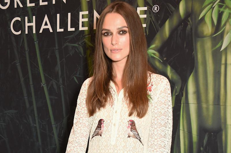 speaking out: Keira Knightley has revealed she has been sexually assaulted four times: Dave Benett