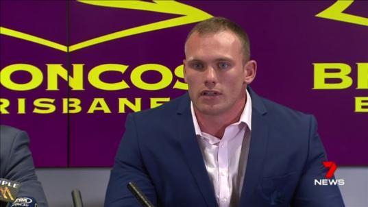 Matt Lodge will pay for his drunken rampage in New York in 2015.