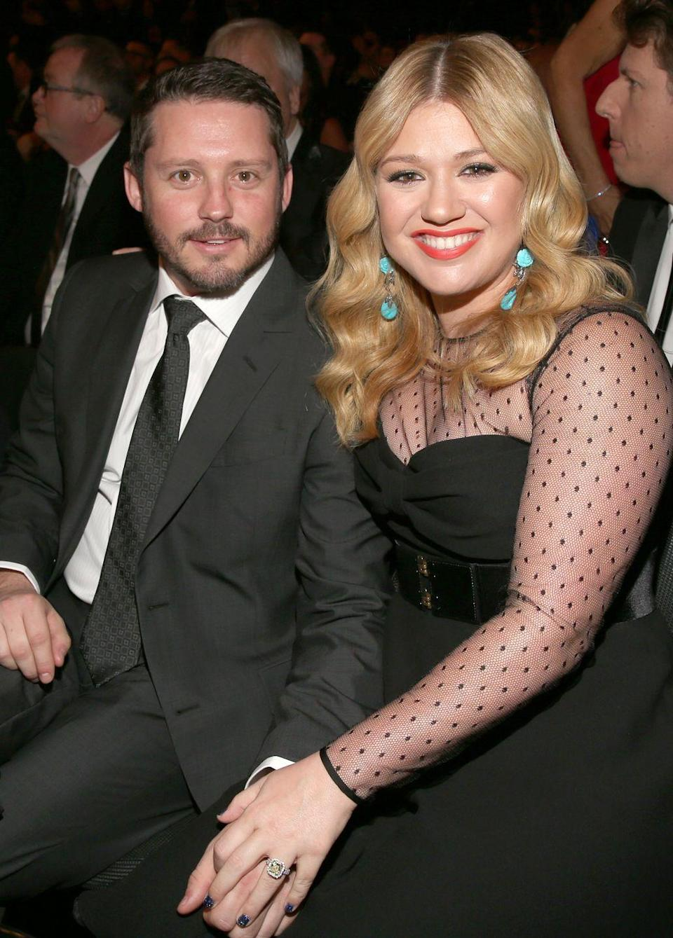 """<p>Kelly Clarkson ditched her planned October ceremony and opted for an elopement with Brandon Blackstock. """"I thought my mother was going to be [disappointed] because I'm her baby,"""" Kelly told <a href=""""https://abcnews.go.com/Entertainment/kelly-clarksons-mom-surprising-reaction-eloping/story?id=20542434"""" rel=""""nofollow noopener"""" target=""""_blank"""" data-ylk=""""slk:ABC News"""" class=""""link rapid-noclick-resp"""">ABC News</a>. """"I thought that was going to be weird but she totally got it. She actually responded, 'I'm just happy I don't have to buy a dress!'"""" </p>"""